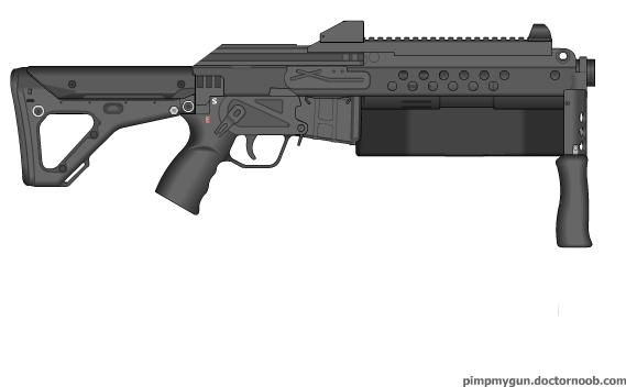 Deus Ex Shot Gun by Epicsunrise