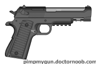 Beretta 1911 by Epicsunrise