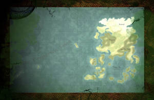 Map of Akavir [The Elder Scrolls Universe]