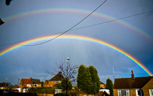 DOUBLE RAINBOW ALL THE WAY by jlryan