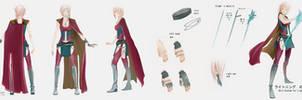 FFXIII - Lightning returns - Kaolinite sword by kaoleanite