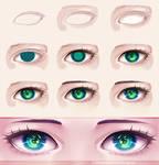 Eye - step by step 10