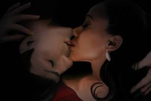 Yin Yang kiss
