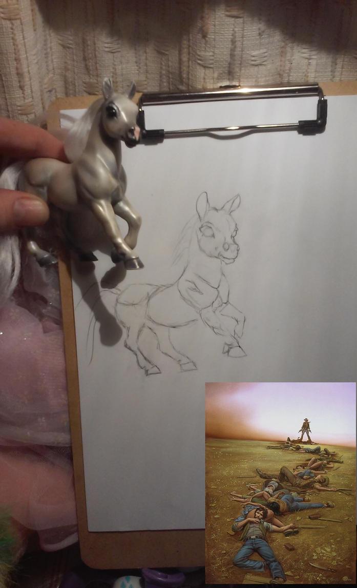 Ponygunslinger by alostpony