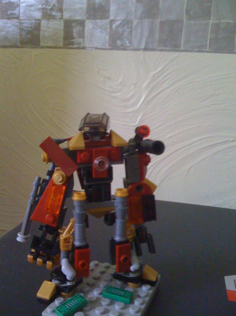 Lego iron man custom hulkbuster suit pic 2 by gozerth23 on
