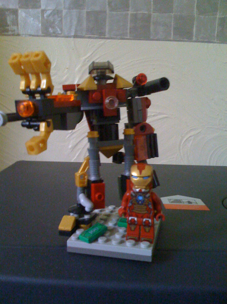 LEGO Iron man custom Hulkbuster suit (pic 3) by gozerth23 ...