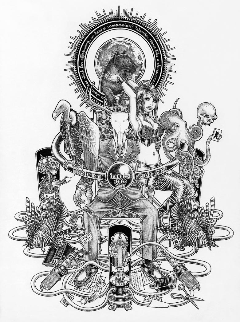 insanity by NakamoriShimon