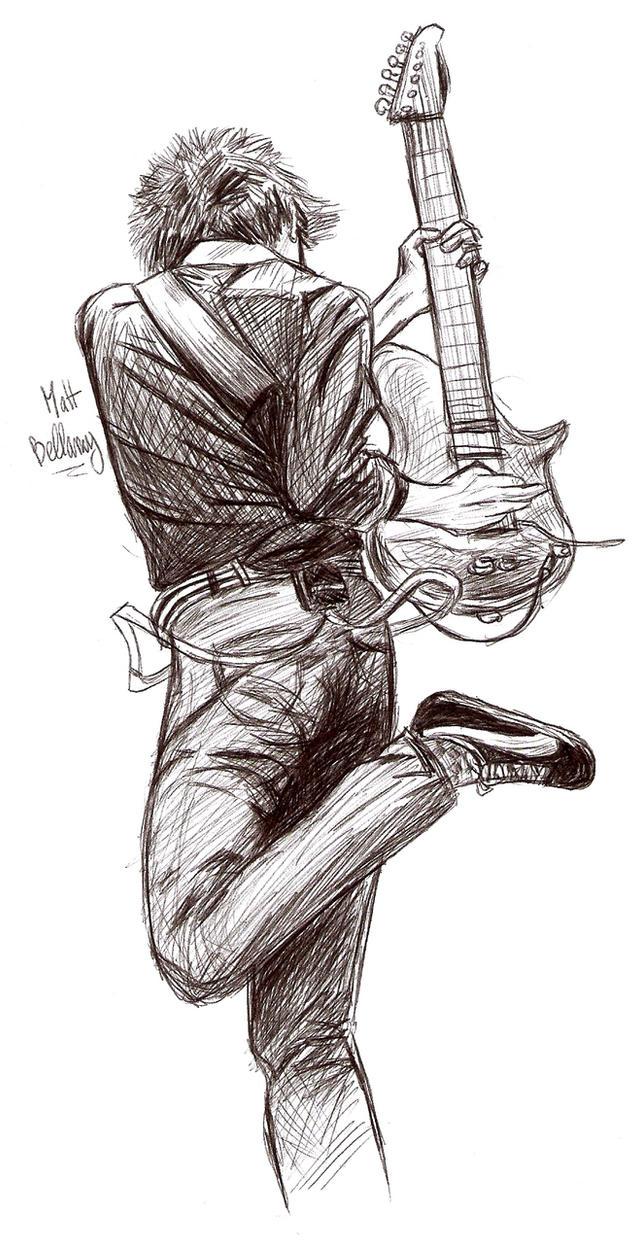Matt Bellamy by Ouma-Laura