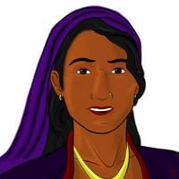 DnD- Theodosia Rettor the Changeling Warlock