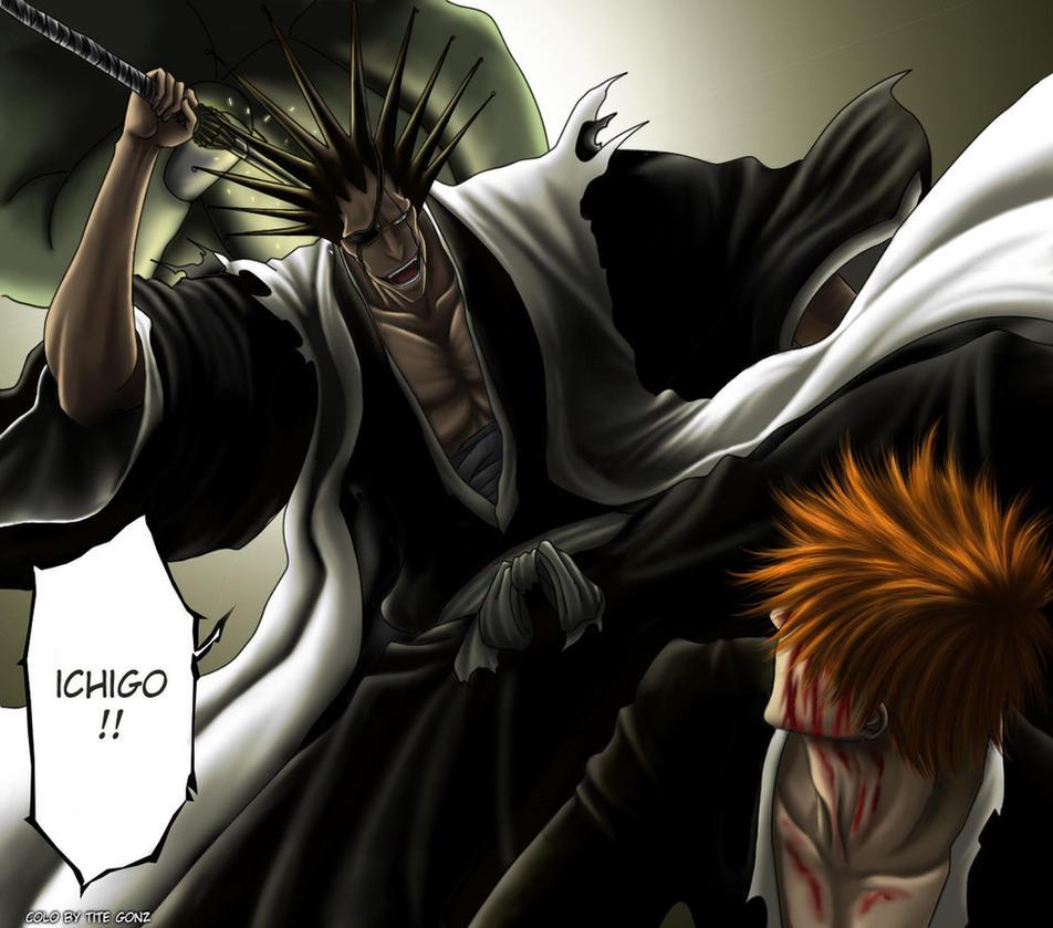 Kenpachi Zaraki E Ichigo Di Bleach By Draw Sisers