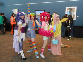 My Little Pony at Nekocon 2013 by DrowningInRice