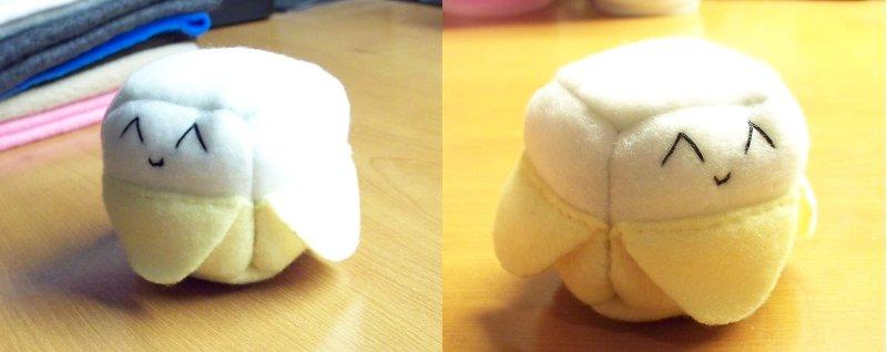Banana Cube Plushie by JeffSproul