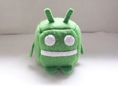 Android Cube Plushie by Cube-lees