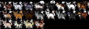 Random Cat adopts (25/25) Open-25 points per by leaderofthelostclan