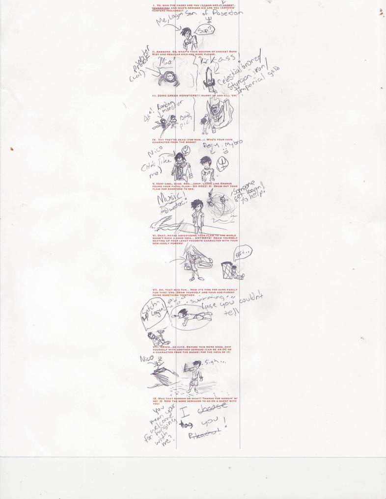 Percy Jackson Meme by DeviantDrawings101