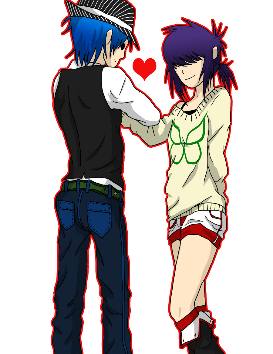Gorillaz Noodle And 2d Love - #traffic-club