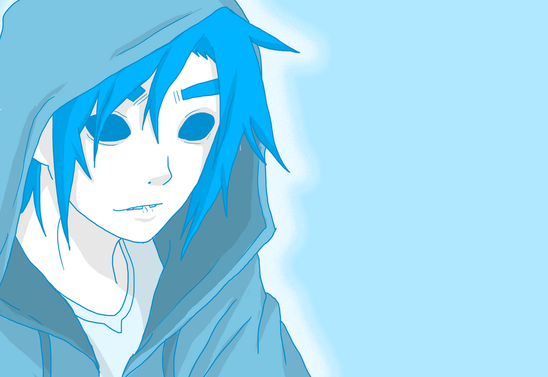 2D - Azul by AniiTaRuiz