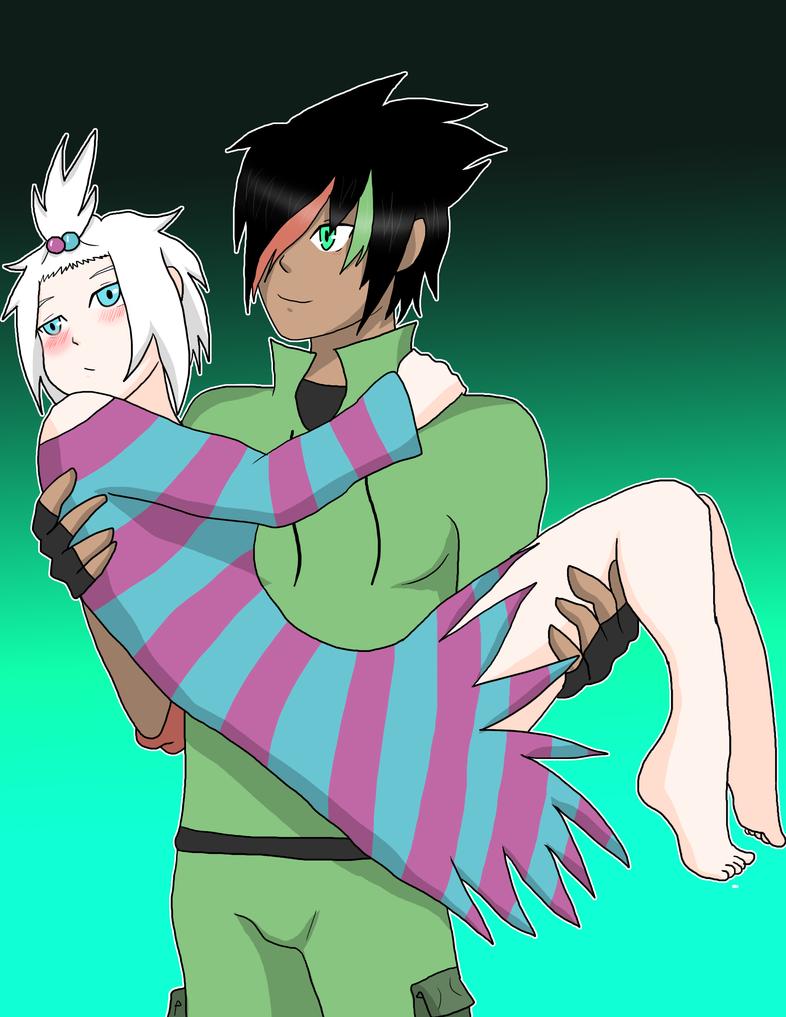 Jhony and Hiedra by AniiTaRuiz