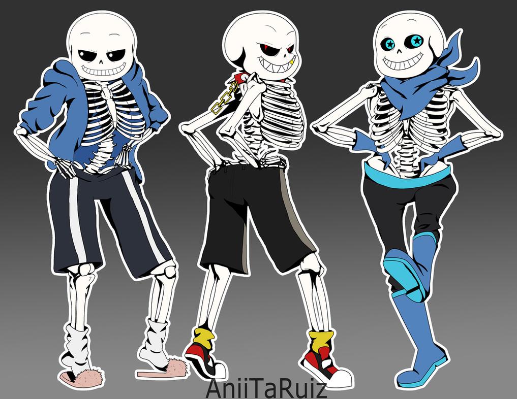 Sexy skeleton sanss by aniitaruiz