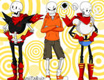 PAPYRUS's - change of clothes
