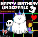 Undertale 3 Year Anniversary