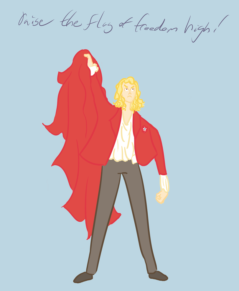 Raise the Flag of Freedom High! by Julyborn