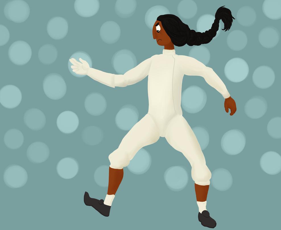 Fencer Connie by Julyborn