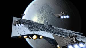 Leaving Hoth by X-a-v-i-o-r