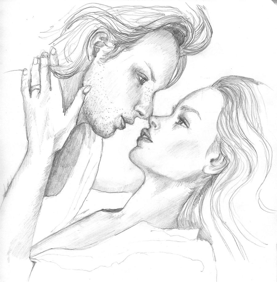 Sketch: Couple in Love by happineff