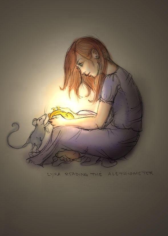 Lyra in the Dark by happineff