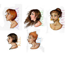 The Women of Tortal by happineff