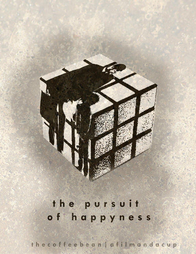 the pursuit of happyness minimalist movie poster by