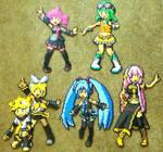 Perler Bead: Vocaloid