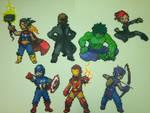 Avengers Perler