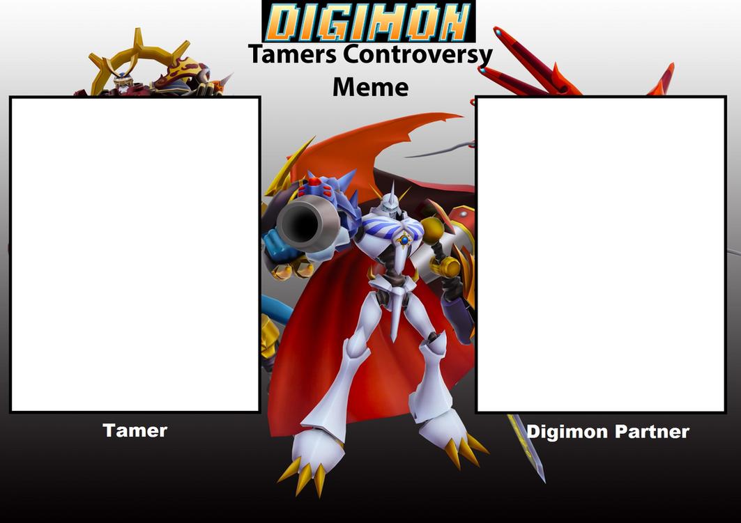 Digimon Tamer Controversy Meme by Wyvernsaurus