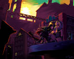 Gravity Rush - Collab by Viral-Zone