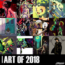 Art of 2018 by Viral-Zone