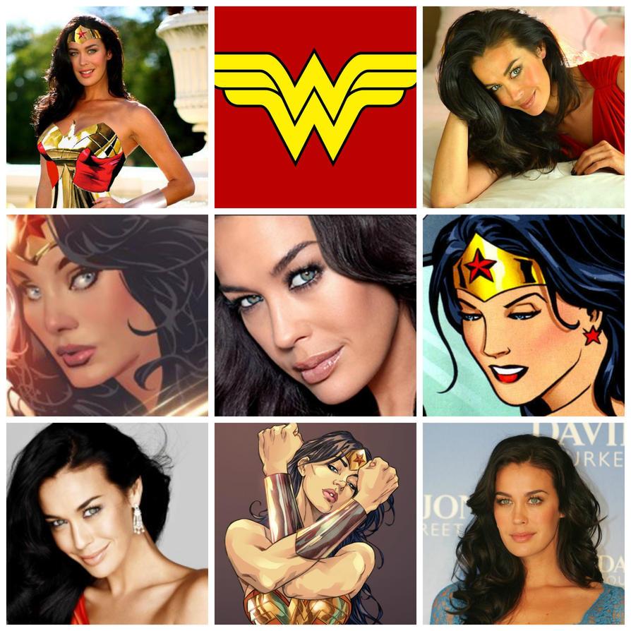 Megan Gale as Wonder Woman by Roxy734