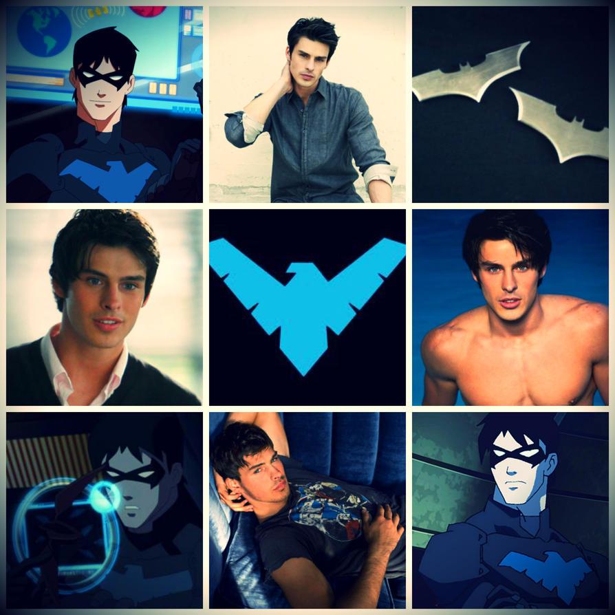 Adam Gregory as Nightwing/Dick Grayson by Roxy734