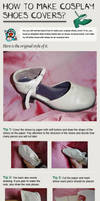 Make Shoe Covers For Cosplay by miccostumes