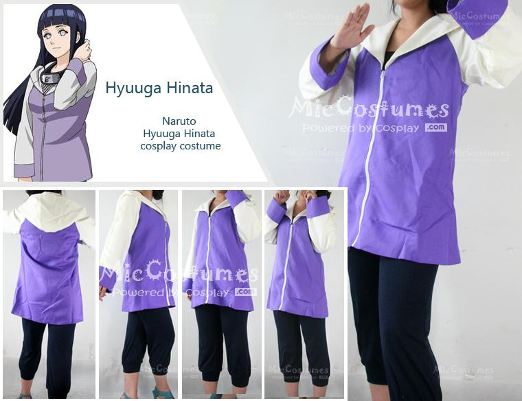 Naruto Hinata Cosplay by miccostumes