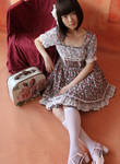 Infanta White Chocolate Printed Lolita Dress