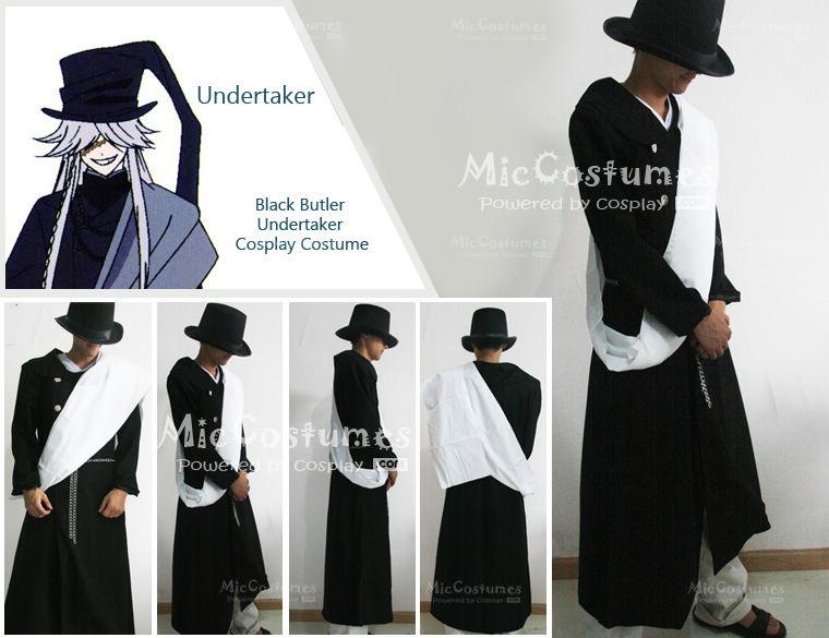 Black Butler Undertaker Cosplay By Miccostumes
