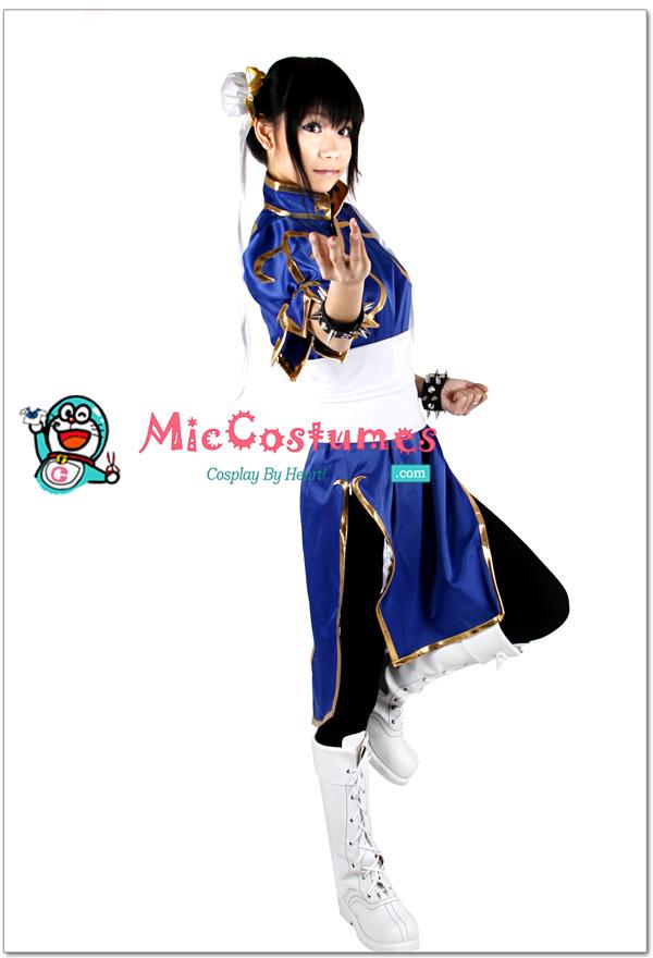 Street Fighter Chun Li Cosplay Costume by miccostumes