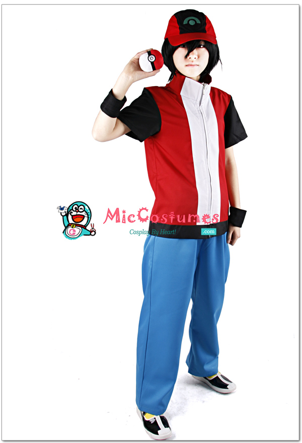 Pokemon Red Cosplay Costume by miccostumes ... & Pokemon Red Cosplay Costume by miccostumes on DeviantArt