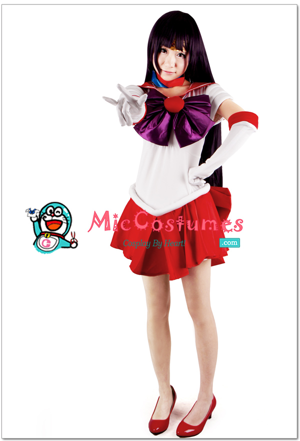 Sailor Moon Hino Rei Sailor Mars Cosplay by miccostumes ...  sc 1 st  DeviantArt : sailor mars costumes  - Germanpascual.Com
