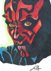 DARTH MAUL by KGOODNER