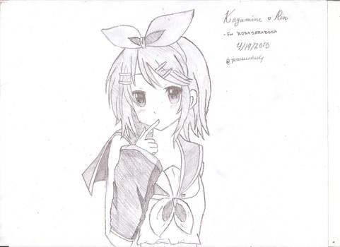 Kagamine Rin for Rosasarabosa