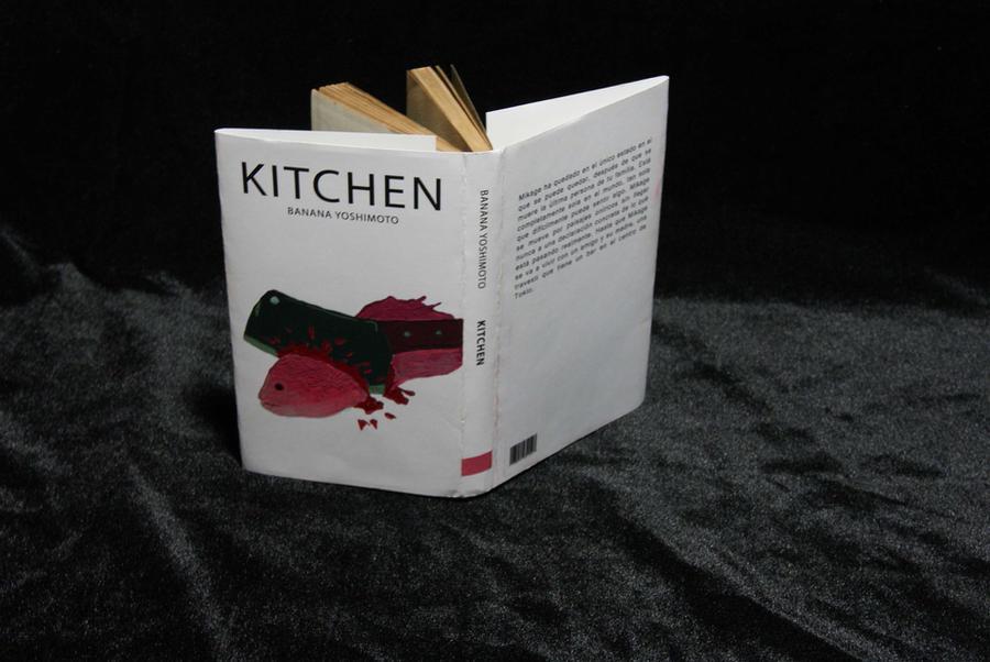 Portada del libro kitchen de banana yoshimoto by for Kitchen banana yoshimoto