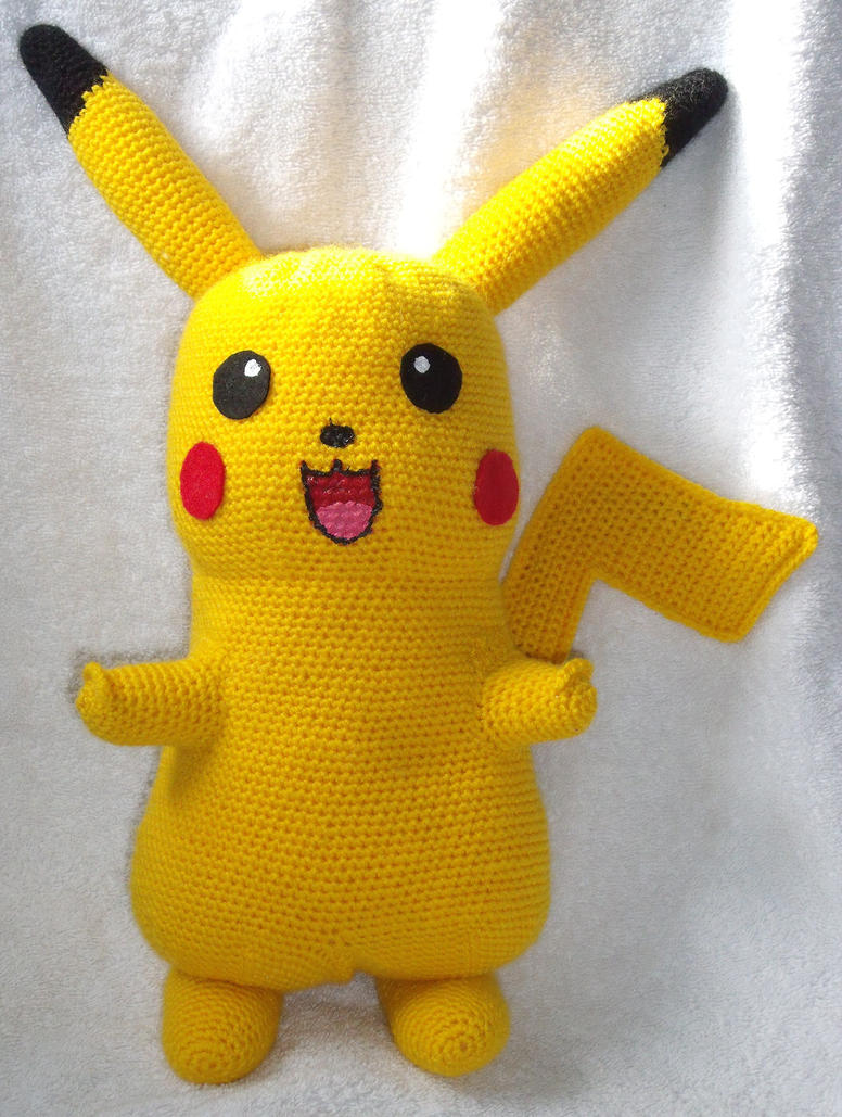 Knitted Pikachu Pattern : TKstars (abby) - DeviantArt